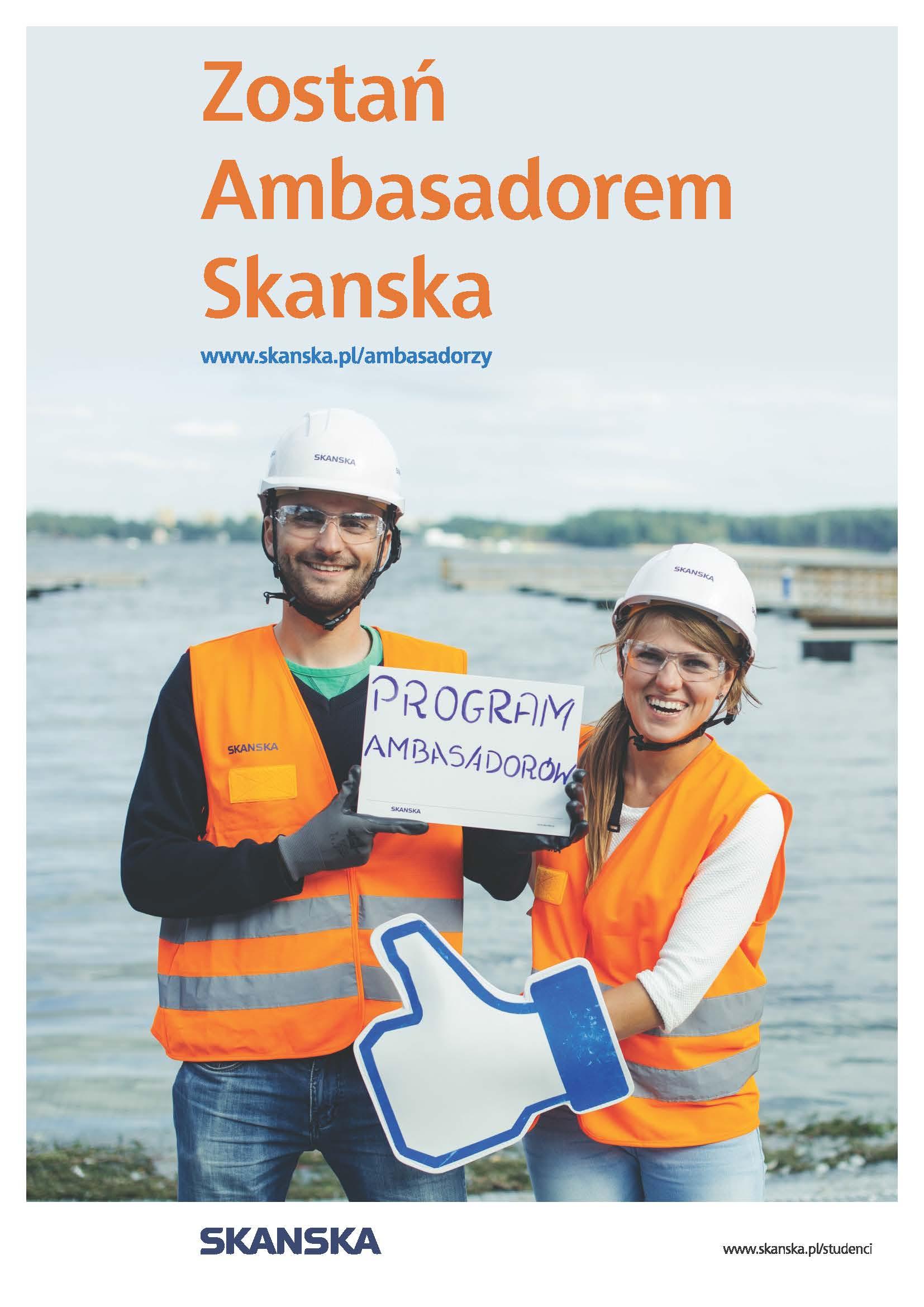 Rekrutacja na Ambasadora Skanska