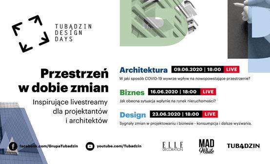 Tubądzin Design Days w tym roku online!