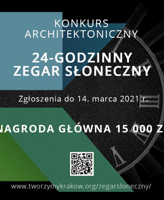 Konkurs architektoniczny 24-godzinny zegar słoneczny